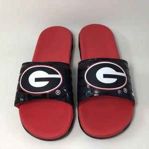 NIKE Mens Sz 9 Loafers Slip-on Georgia College NEW